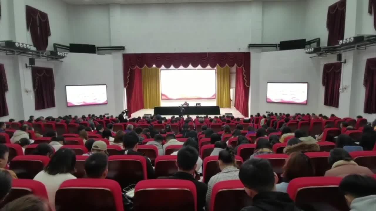 省委宣讲团在教育系统宣讲